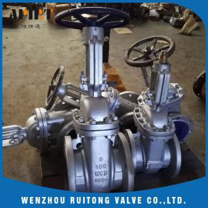 China API 6D 150LB 300lb cast steel wcb flange gate valve for industry on sale