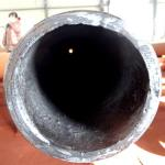 Resistant ceramic lined pipe