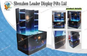 China Exposição da pálete do cartão do fogo de artifício com impressão colorida para a promoção de venda on sale
