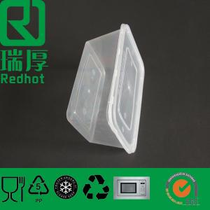 China Disposable Takeaway Plastic Container with Lids (RHA750) on sale