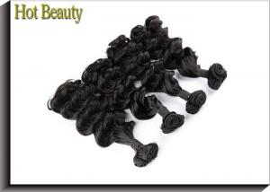 China Spanish Curl 7A Grade Virgin Hair From One Donor Natural Black , Can Be Permed Again on sale