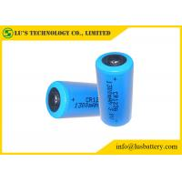 CR123A 3v Lithium Battery , CR123A Industrial Lithium Battery 1500mah