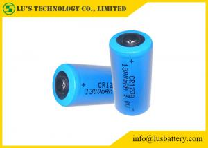 China CR123A 3v Lithium Battery , CR123A Industrial Lithium Battery 1500mah on sale