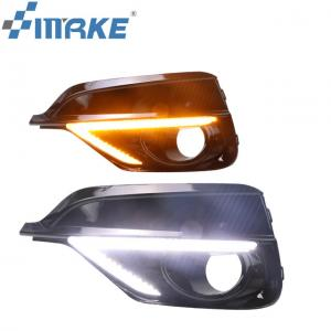 China New Headlight Dual Colors Turn Signal Light Led Drl For Honda Fit Jazz Rs 2018 2019 on sale