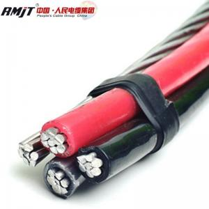 China Duplex AAAC conductor Triplex ACSR cable price of abc aerial bundle cable on sale
