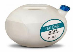 China Solvey Galden  Specialty Polymers HT-55 PFPE heat transfer fluid 5 kg / 1 Gal Bottle on sale