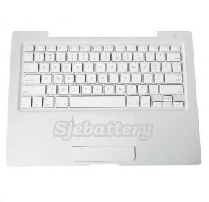 China 13 inch Macbook Keyboard MB061 Trackpad Topcase Palmrest USEnglish Clavier White on sale