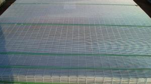China Heavy Gauge Wire Mesh Fencing , High security Prison Fence System on sale