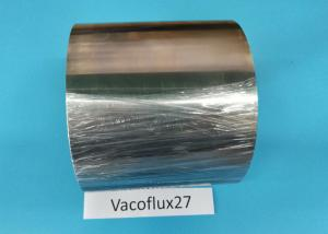 China Vacoflux27 Soft Ferromagnetic Materials , Cold Rolled Strip Soft Magnetic Iron on sale