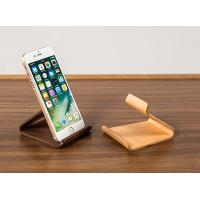 Office Cell Phone Holder Oak Wood , Customizable Iphone Phone Stand Non Toxic