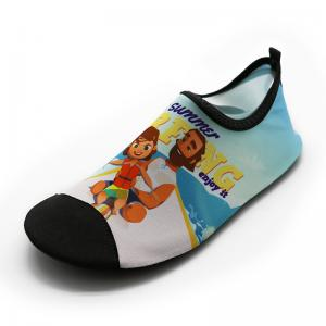 d2f03e7c340c ... Quality Anti Skid Mens Beach Water Shoes For Aqua Aerobics Lycra Daddy  Girl Pattern for sale ...