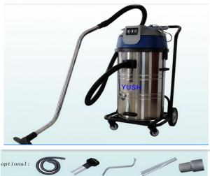 China Impact resistance Industrial Wet Dry Vacuum Cleaners 60L for heavy duty workshop on sale