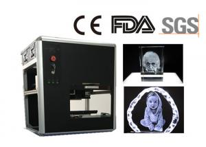 China Diode Pumped 532nm 3D Laser Engraving Machine , Cost - Effective 3D Laser Carving Machine on sale