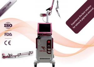 China Picosecond Q Switch Laser Tattoo Removal Machine High Peak Power 1200mj on sale