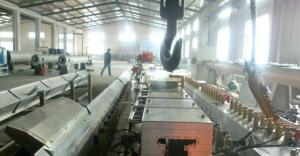 China High Speed Wood Plastic Composite Extrusion Line For Door Frame on sale