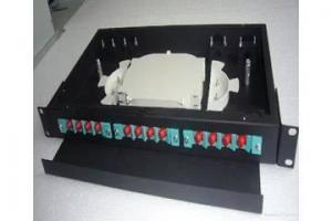 China 1U Rack Mount Fiber Optic Terminal Box on sale