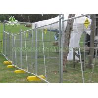 China 6ft Height Temporary Chain Link Fence Panels With 50 × 50mm Diamond Mesh on sale