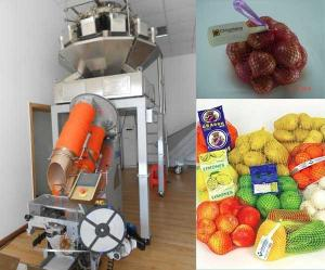 China Batata automática completa do citrino, planta de embalagem do saco líquido da cebola on sale