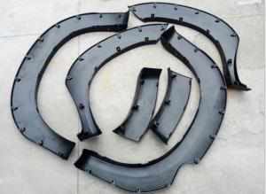 Quality White / Black Car Body Spare Parts Fender Flare For Toyota Hilux Vigo 2006-2009 for sale
