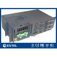 Battery Charge Function Telecom Rectifier System Hot Swappable ISO9001 CE Certification