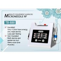 Fractional / Microneedle RF Skin Rejuvenation Machine For Hospital