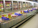 Stainless Steel Upright Island Combination Freezer -18 Degree Eco Friendly