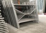Safety Scaffolding Frame System Tubular Aluminum Scaffolding Q345 Material