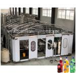 Soft Carbonated Drink Filling Machine , Pepsi Making Machine Complet Line
