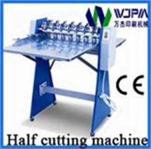 China Automatic High Speed Self-Adhesive Half-Cutting Machine on sale