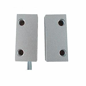 China Zinc Alloy Magnetic Door Contacts Sensor for Metal Iron Doors and Cabinet Doors on sale