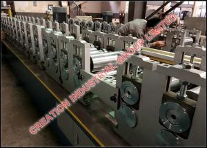 China Light Steel Stud And Track Roll Forming Machine for U Runner / U Track , 0.4-1.0 mm thickness on sale
