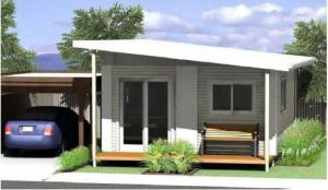 China Modern Prefabricated Bungalow Homes , Prefab Modern Homes , Australia Granny flat on sale