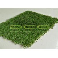 China Cool Artificial Grass Landscaping / Outdoor Artificial Turf Easy Clean Low Maintenance on sale