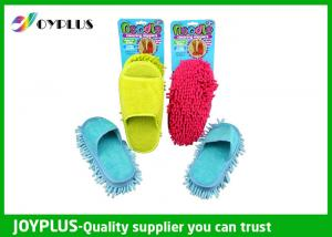 China 27X13cm Home Cleaning Tool Household Floor Cleaning Slippers / Chenille Mop Slippers on sale