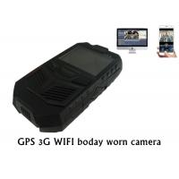 3G GPS WIFI Police Body Worn Camera Portable DVR For Law Enforcement