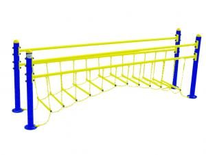 China outdoor playground galvanized steel hanging bridge-ET-RO1 on sale