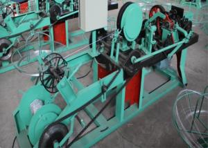 China Custom Twisting Barbed Wire Making Machine High Output For National Border Lines on sale