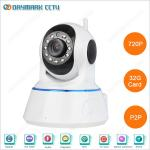 720p Home use indoor smart wifi connection wireless camera ip