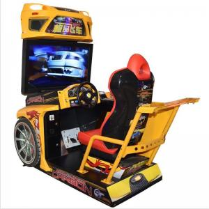 China Customized Racing Game Machine For Amusement Park / Arcade Playing Center on sale