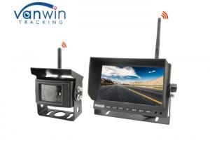 China Truck Back Up Reversing Camera Kit 2.4G Wireless 7 Inches Car Monitor on sale