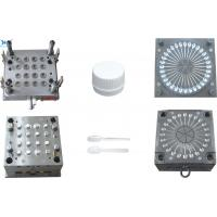 China Highly Precise Screw Plastic Cap Mould S50C Mold Base Easy Operating on sale
