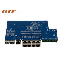 Managed Gigabit Network Switch Module PCB Board With 8 Port 10/100/1000M + 2SFP Port