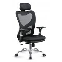 China Gas Lift Fabric Home Office Chair , Commercial Staff Office Chair Long Using Life on sale