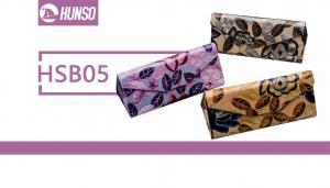 China Triangle Eyeglass Case Box , Magnet Folding Sunglasses Cover Box on sale