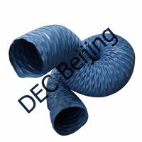 Fire retardant fabric flexible duct industrial ventilation  welding fume exhaust duct