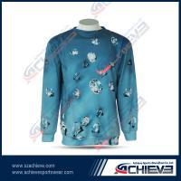China Full sublimation fleece woven sweaters custom crewneck sweatshirt on sale