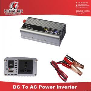 China 80-3000watt,dc 12V ac 220V 230v car power inverter 800W with USB port on sale
