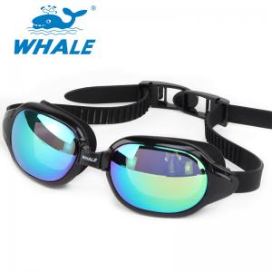 China Anti Fog Waterproof Professional Silicone Swimming Goggles for adult on sale