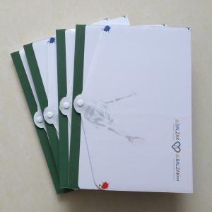China E-flute box folder printing, made to order 3 layer box folder printing, art card box printing company on sale