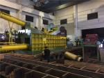 315 Tons Baling Force Cuboid Block Scrap Baler Machine Cylinder Scrap Metal Press
